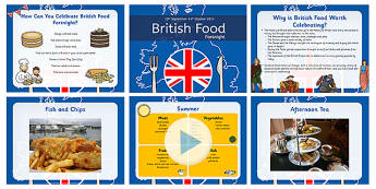 British Food Fortnight PowerPoint - british food fortnight, powerpoint
