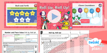 Y1 Place Value Count up to, Back from and Across 100 (2) Lesson Pack - Counting back, count back, counting backwards, Count back from 100, Count backwards from a hundred,