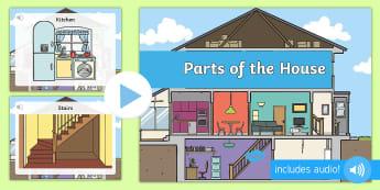 Μέρη του σπιτιού παρουσίαση στα αγγλικά - Μέρη του σπιτιού παρουσίαση στα αγγλικά