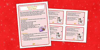 Snowman Soup Recipe and Gift Cards - snowman, soup, recipe, gift cards, gift, cards