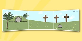 Easter Story Small World Background - easter, religion, roleplay