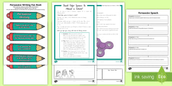 Persuasive Writing Reliever's Activity Pack - writing, persuasive, year 4-6, new zealand, reliever, pack