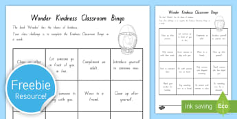 Year 5 and 6 Chapter Chat Week 1 Class Kindness Challenge Activity to Support Teaching On Wonder by R.J. Palacio - reading, chapter chat, literacy, R.J. Palacio, Wonder