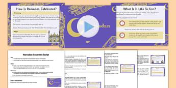 KS2 Ramadan Assembly Pack - Ramadan, islam, assembly