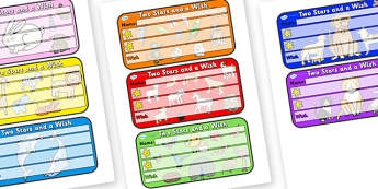 Themed Two Stars and a Wish Comment Labels Animals - Themed Labels, Labels, Animal Themed, Two Stars And A Wish, Comment Labels, Animal Labels