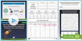 Year 3 Term 3A Week 5 Spelling Pack - y3, spelling test, look say cover write check, spelling rules, activities