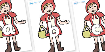 Phoneme Set on Little Red Riding Hood - Phoneme set, phonemes, phoneme, Letters and Sounds, DfES, display, Phase 1, Phase 2, Phase 3, Phase 5, Foundation, Literacy