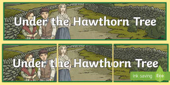 Display Banner to Support Teaching on Under the Hawthorn Tree - ROI - Resources to Support The Teaching Of Under the Hawthorn Tree, English, history, famine, potato