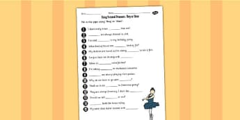 Using Personal Pronouns They or Them Worksheet - personal pronoun