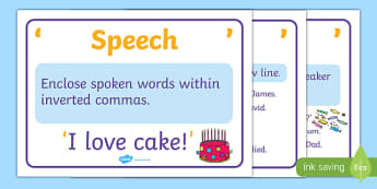 Written Speech Posters - written speech posters, display, posters, sign, written speech, speeck marks, comma, who is speaking, tips, promts, remember