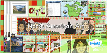Art: North American Art UKS2 Unit Additional Resources