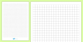1cm Squared Editable Paper - paper, square, squared, grid, dt, maths, design, graph