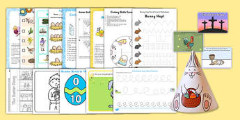 Easter SEN Resource Pack - easter, SEN, sensory, PMLD, P Scales