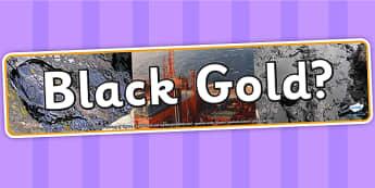 Black Gold Photo Display Banner - IPC, banner, photo