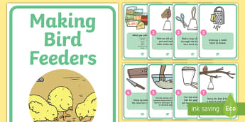 How to Make Bird Feeders - Bird Feeder, birds, making a bird feeder, activity, aid, winter, feeding, help, robin, robins