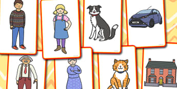 General Storytelling Prompt Cards - story, telling, prompt, card