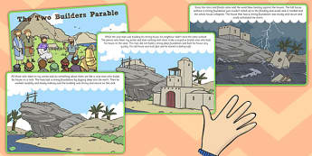 The Two Builders Parable - parables, two builders, builders