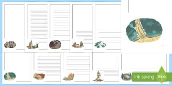 Exodus Page Border Pack - UKS2, LKS2, negative, positive, number, zero, forwards, backwards, context, calculate