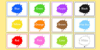Editable Class Group Signs (Colour) - Colours, group signs, group labels, group table signs, table sign, teaching groups, class group, class groups, table label