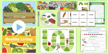 KS1 Healthy Eating Week Resource Pack - healthy foods, 5 a day, obesity, Fruit, Vegetables,