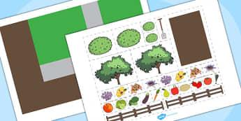 Garden Plan Activity - garden, plan activities, activities, games