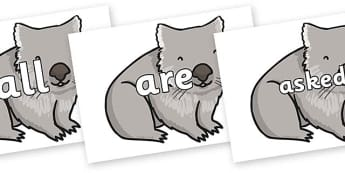Tricky Words on Wombat - Tricky words, DfES Letters and Sounds, Letters and sounds, display, words