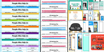 EYFS People Who Help Us Lesson Plan, Enhancement Ideas and Resources Pack - planning