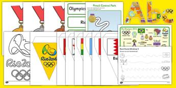 Childminder Rio Olympics Resource Pack