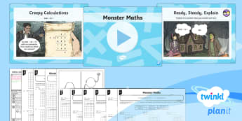 PlanIt Maths Y6 Addition, Subtraction, Multiplication and Division Lesson Pack Long Division (2)
