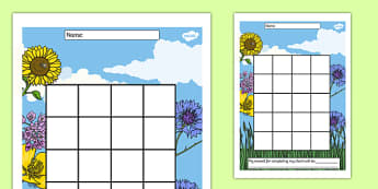 Environment Themed Sticker Stamp Reward Chart - rewards, celebrate, record, log behaviour, positive, eco, environment, nature, ks1