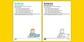 Elderly Care Life History Book My Beginnings Reminiscence Session - Elderly, Reminiscence, Care Homes, Life History Books