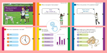 3rd Grade Measurement and Data Assessment Practice Quick Quiz - Common Core Math, eoy, moy, boy, Measurement and Data, MD, online assessments