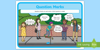 Question Marks Punctuation Poster - Question Marks Punctuation Poster - questions, punctuation , puntuation, punctatuion, puncuation, pu