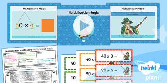 PlanIt Maths Y3 Multiplication and Division Lesson Pack Multiplication (1)