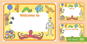 Story Books Editable Class Welcome Door Signs - story books welcome sign, story books, story books themed welcome signs, welcome signs, editable welcome signs, door signs