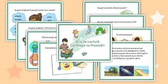 Lectura activă - Cartonașe cu provocări