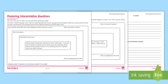 Weimar Germany: Stresemann Source Interpretation Grid Activity Sheet - weimar germany, kS4, GCSE, History, source interpretation, stresemann, economy, differentiated, work