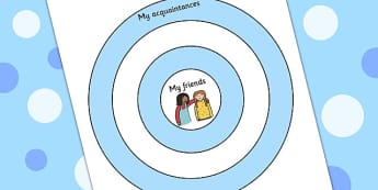 My Friends And Acquaintances Target - making friends, ourselves