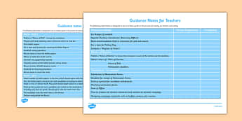 School Council Election Teacher Guidance Notes - school council, election, SMSC, teacher guidance, notes