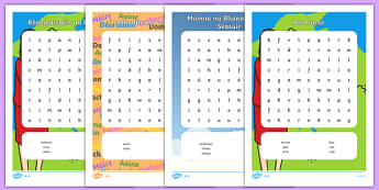 Irish Aimsir Pack Word Search-Irish