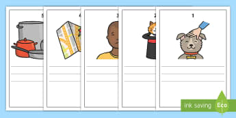 Phase 2 Pictures and Captions Writing Frames - Phase 2 Captions And Pictures Matching Cards - word cards, matching activity, captions, pictures, ma