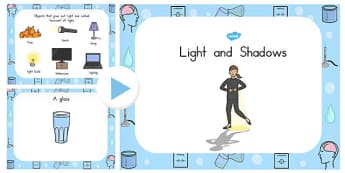 Light and Shadow PowerPoint - australia, light, shadow, powerpoint