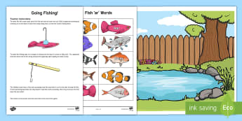 AR Sound Gone Fishing Activity - ar sound, sound, activity, ar, gone fishing, game