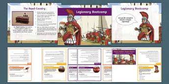 History Hackers: Roman Rescue Legionary Bootcamp PowerPoint and Outdoor Activity Pack - English - Teamwork, games, throwing, catching, skills, PE
