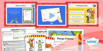 D&T: Juggling Balls: Designing LKS2 Lesson Pack 2