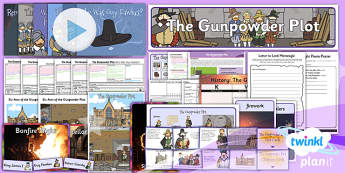 History: The Gunpowder Plot KS1 Unit Pack