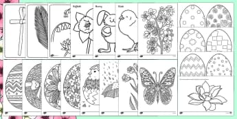 Spring Colouring Resource Pack - Adult Colouring, Themes, Art, Display, Ideas, Support, Activity Co-ordinators, Elderly care, Care Ho