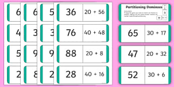 Partitioning Loop Card Dominoes