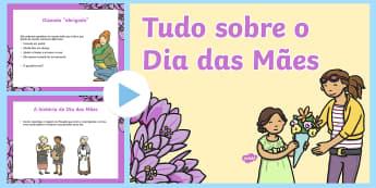 Tudo sobre o Dia das Mães - dia da mae, atividade, trabalhos manuais, fichas de colorir, paginas de colorir, recursos em portugu