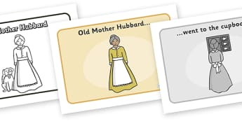 Old Mother Hubbard Sequencing - Old Mother Hubbard, nursery rhyme, rhyme, rhyming, nursery rhyme story, nursery rhymes, Old Mother Hubbard resources